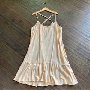 Michael Stars Cross Back Slip Dress